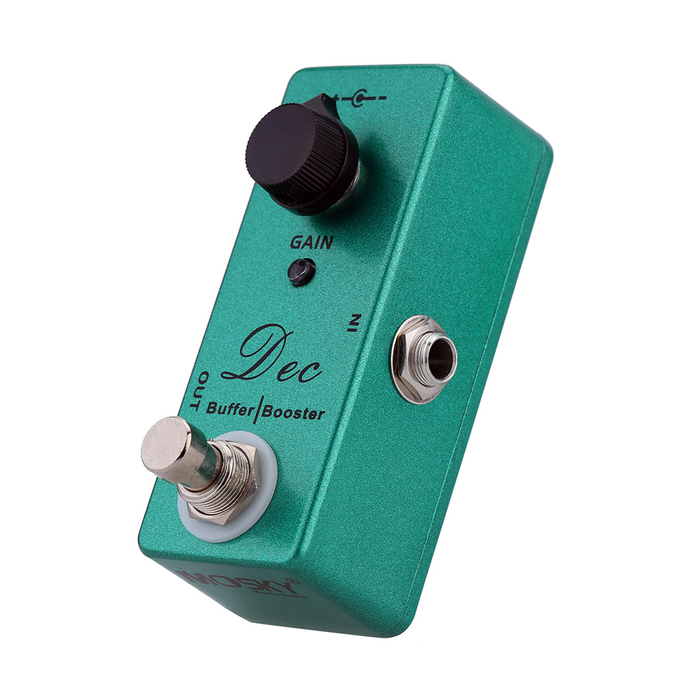 buffer booster electric guitar effect pedal mini single effect with clean boost true bypass in. Black Bedroom Furniture Sets. Home Design Ideas