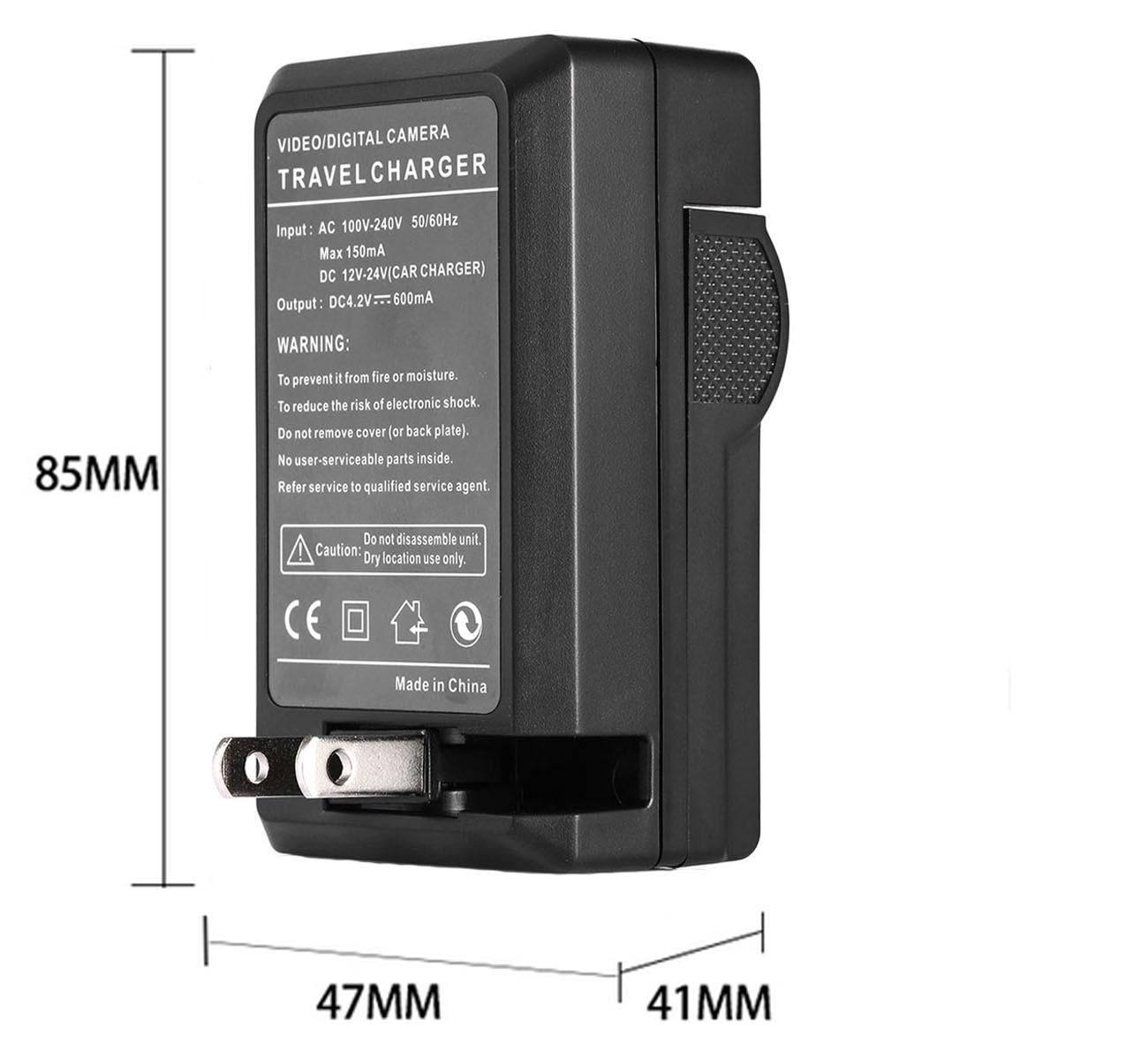 SC-D77 Digital Video Camcorder SC-D71 SC-D73 LCD USB Travel Battery Charger for Samsung SC-D70 SC-D75