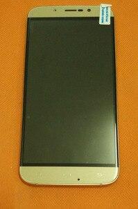 Image 2 - Б/у Оригинальный ЖК дисплей + дигитайзер сенсорный экран + рамка для Уми Рима MTK6753 5,5 дюйма 1280x720 HD Восьмиядерный, бесплатная доставка