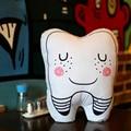 1 шт. Творческий Моделирование Зубов Плюшевые Подушки Милой Улыбкой Зубы Мягкие Диванные Подушки Интересный Подарок украшение Дома