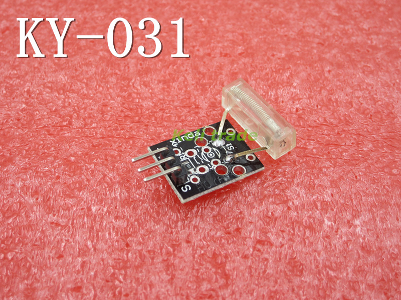 Smart Electronics 3pin <font><b>KEYES</b></font> KY-031 Percussion Knocking Knock <font><b>Sensor</b></font> Module for Arduino Diy Starter Kit KY031 Free Shipping