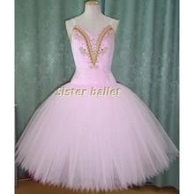 pink romantic ballet tutu, skilled ballet lengthy tutu gown, classical ballet costume tutus, ballerina lengthy tulle gown