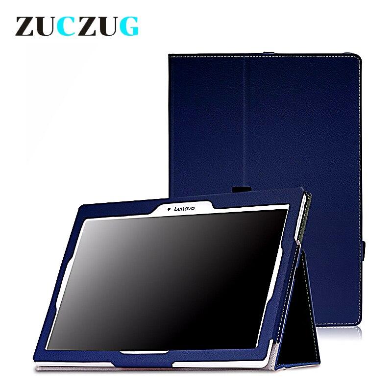 Cas pour Lenovo Tab 2 A10 A10-30 A10-30F PU En Cuir Stand Folio Stand Cas X30L X30F 10.1 Cas de Comprimé de couverture pour Lenova fundas