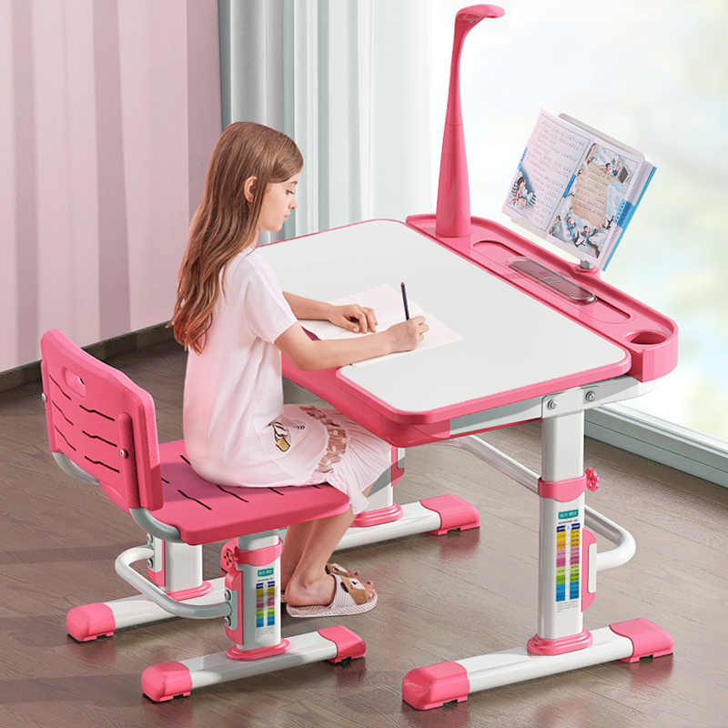 Super Multifunction Kids Study Chair And Table Set Lifted Writing Gmtry Best Dining Table And Chair Ideas Images Gmtryco
