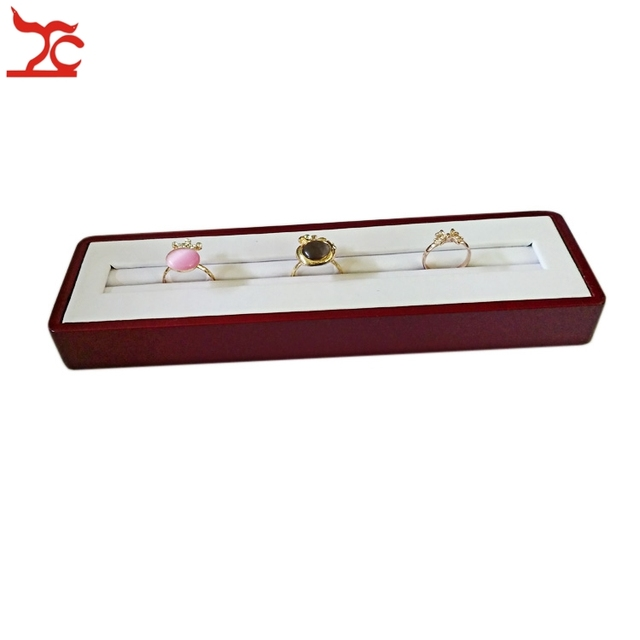 New Arrival Free Shipping High Quality Jewelry Display Holder Case Ring Stud Earring Organizer Storage Tray