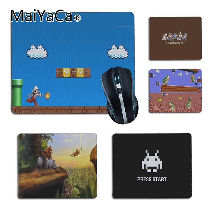 MaiYaCa Custom Skin Classic game scenes gamer play mats Rubber Mouse pad Size for 25X29cm 18x22cm Gaming Mousepads