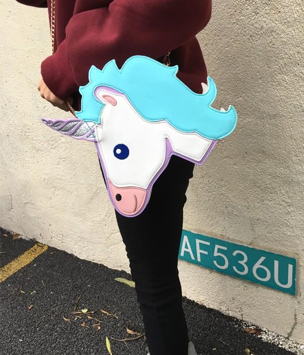HTB1Yj6COpXXXXcfXXXXq6xXFXXXw - Unicorn Handbag women Shoulder Bag Cute
