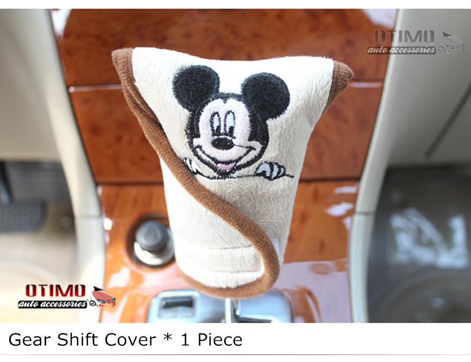 Cute Cartoon Car Steering Wheel Cover Mickey Mouse 3
