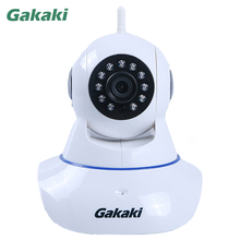 Gakaki Wifi IP Camera HD Wireless P2P CCTV Network Camera Audio Monitoring Security Baby Monitor Support