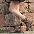 Larga floja de moda calcetines corea del estilo japonés mujeres rodilla Slouch lindo k167