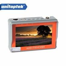 CCTV Tester 3 En 1 Para AHD, TVI y CVBS Analógica Cámara de Seguridad Del Monitor 1080 P Con Pantalla LCD de 4.3 Pulgadas 5 V 2A, 12 V 1A de Vigilancia
