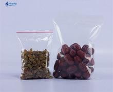 цена на 10*15 cm Jewelry Ziplock Zipped Lock Reclosable Plastic Poly Clear Bags3000pcs/lot by Free shipping