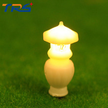 30PCS 1/25-30 Architectural Scale Model Layout Single Head Garden Lights Grassground Lamps