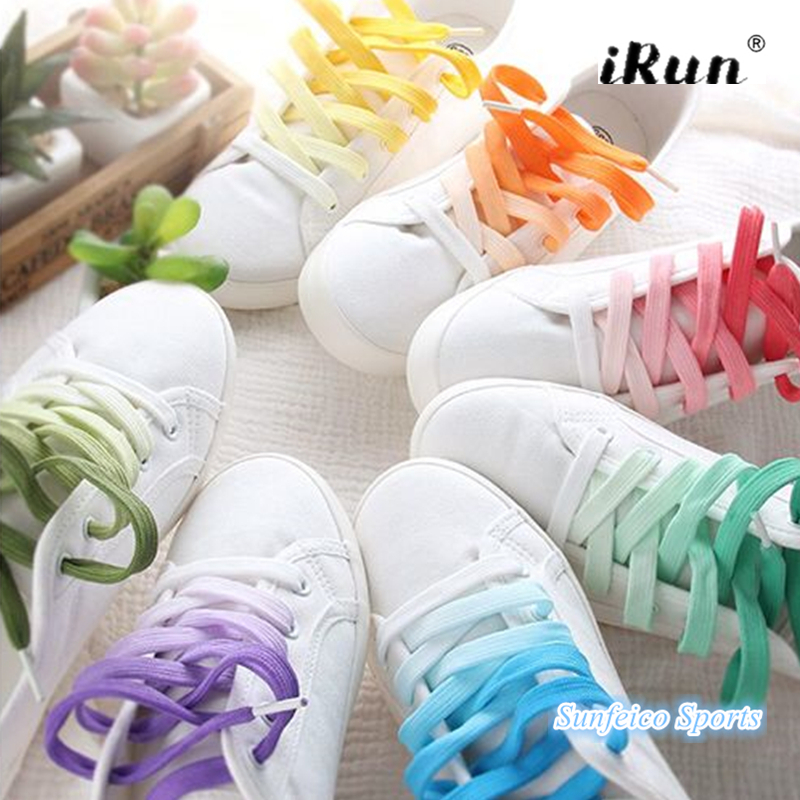 2ad0b89fcd662 US $495.0 |Fat Flat Rainbow Gradient Shoe Laces~Rainbow Color Tie Dye  Laces~Amazon Supplier~Provide UPC Barcode~7 Colors~DHL FREE SHIPPING-in ...