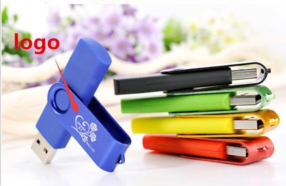 Business USB Flash Drive colourful USB 2.0 8g 16g 32g 64g print LOGO Memory Stick Pendrive key U Disk Gift S901#21