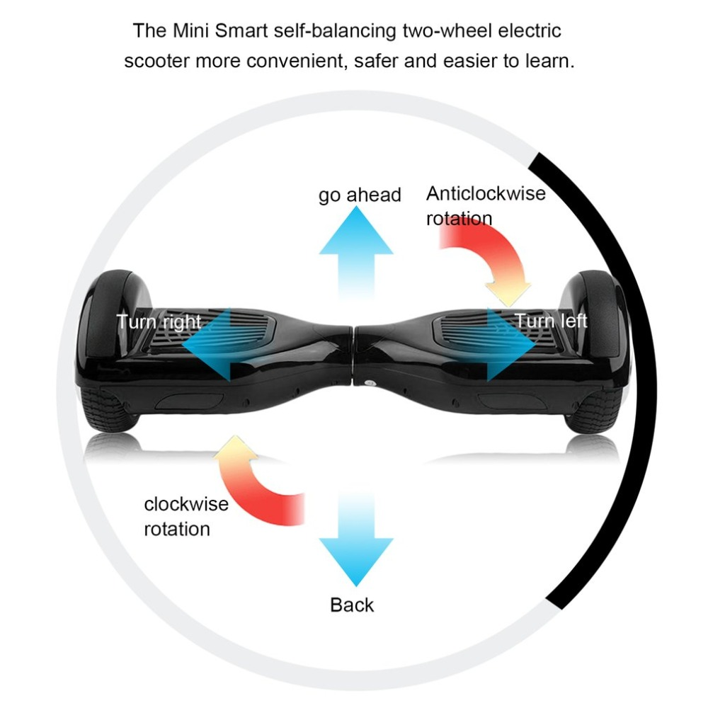Classical Balance Board 2 Wheels Self Balancing Electric Scooter Go Hover Smart Hoverboard With Bluetooth Speaker In Scooters From
