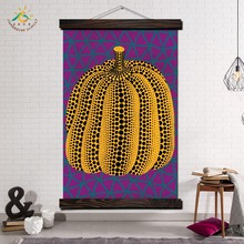 Japan Artist yayoi kusama Modern Wall Art Print Pop Posters and Prints Scroll Canvas Painting Pictures