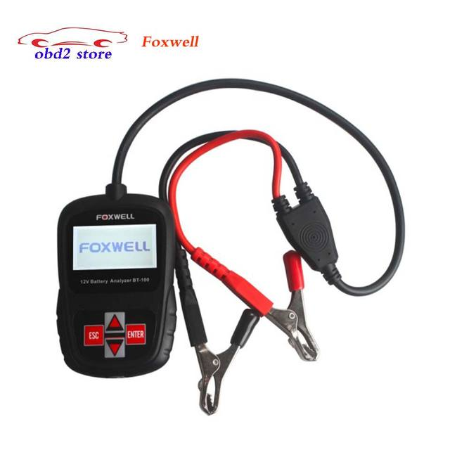 FOXWELL BT100 12V Car Battery Analyzer For Flooded AGM GEL Cell 30...