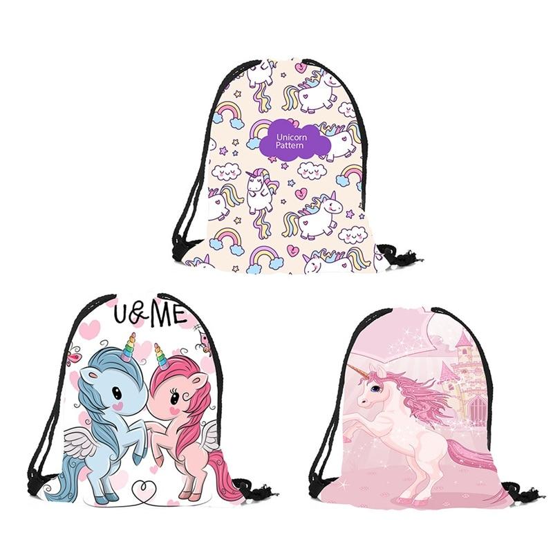 Emoji Swim BagGirls Unicorns Swimming BagKids Unicorn Emoji Backpack