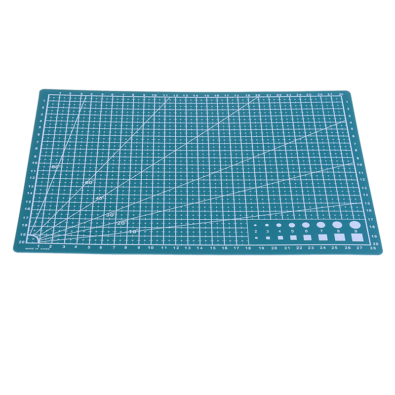 1PC A4 Grid Lines Cutting Mat Made With PVC Material For Salad And Vegetable Cutting 5