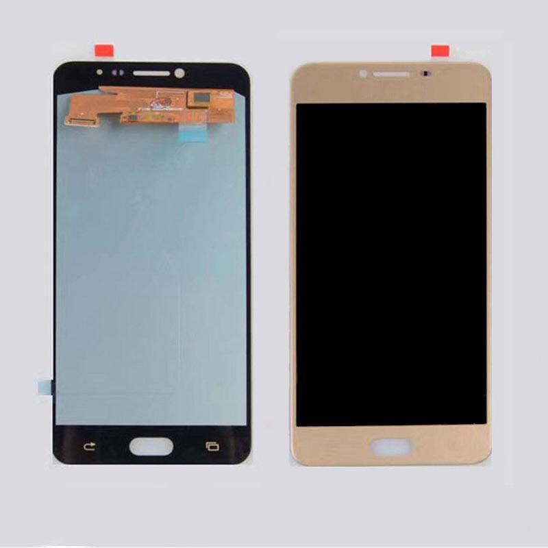 62f33572331 Cheap Super Amoled para Samsung Galaxy C7 C7000 pantalla LCD de pantalla  táctil digitalizador Asamblea C7000