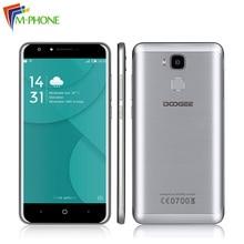 Оригинал DOOGEE Y6C 5.5 дюймов 4 г мобильного телефона Android 6.0 MTK6737 1.3 ГГц Quad Core 2 ГБ Оперативная память 16 ГБ Встроенная память 13.0MP двойной Камера смартфон