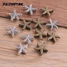 10 sztuk dwa kolor rozgwiazda koła dystansowe adaptery suwak Spacer biżuteria materiał dystansowe do tworzenia biżuterii na 10mm skórzany sznur