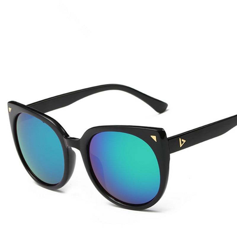 ᐊFashion Cat s Eye Sunglasses Women Men Brand Designer Mirror Lens ... d4431b68f0