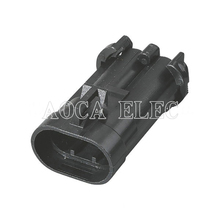 цена car wire connector ecu male female wire connector fuse plug connector automotive wiring 2 pin terminal socket DJ70282A-6.3-11 онлайн в 2017 году