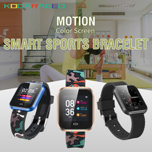 2018 The Newest CD16 Smart Watch Blood Pressure Heart Rate Monitor Sports Activity Fitness Tracker Bracelet IP67 Smartwatch(China)
