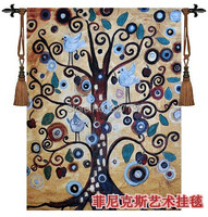Abstract Landscape Tree No 1 Tapestry Wall Hanging Decoration Antique Home Textile Big138X105cm Aubusson Jacauard Fabric
