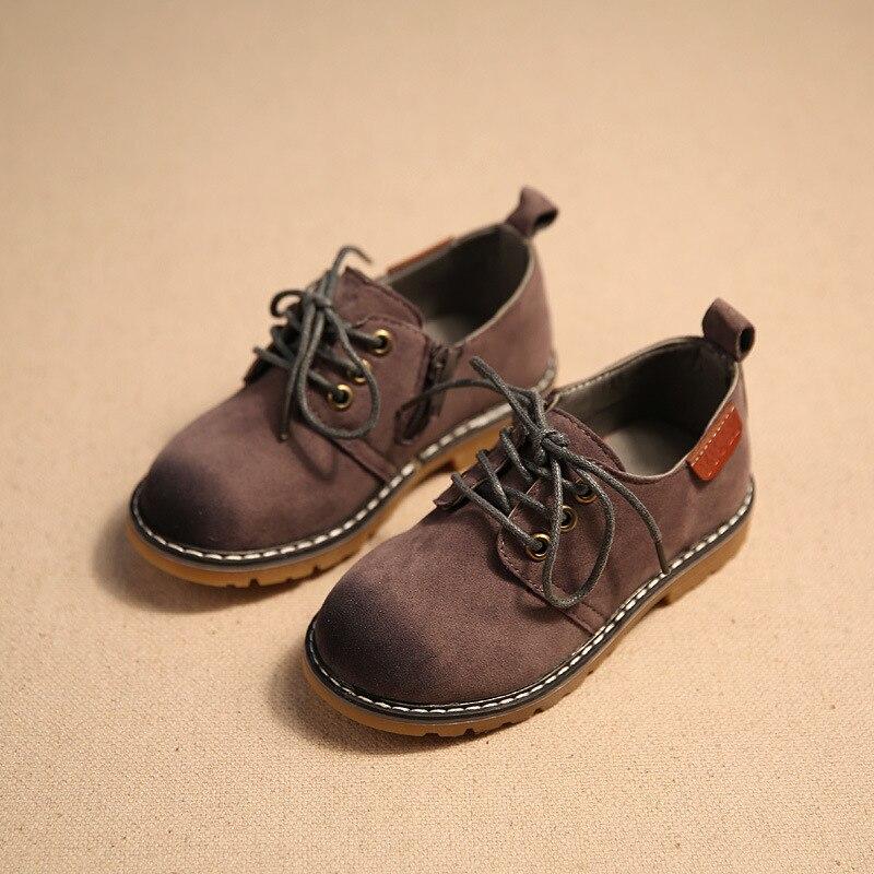 Leren schoenen kind