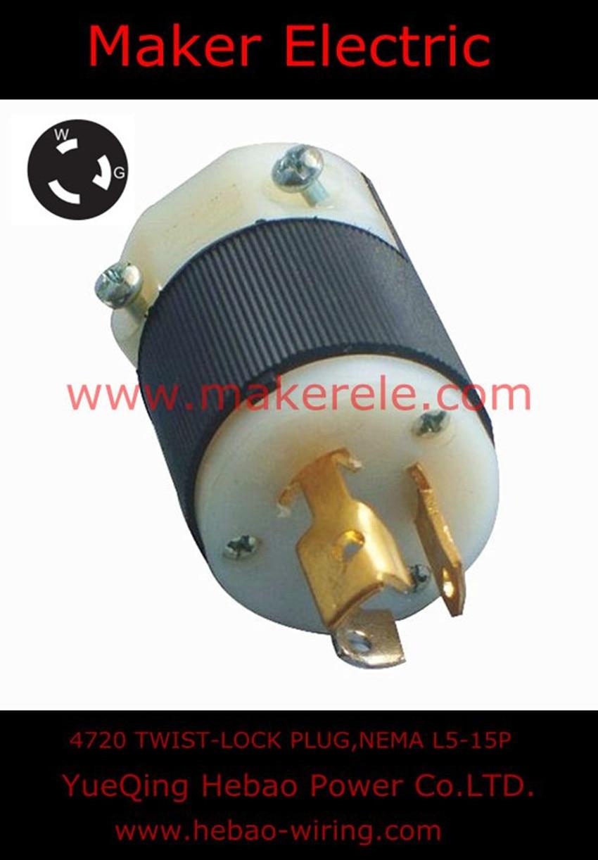 hight resolution of 4720 twist lock plug l5 15p hubbell nema generator twist lock locking heavy duty power plug