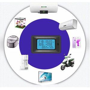 Image 5 - Multimètre numérique fréquence puissance énergie tension courant mesure puissance alarme seuil préréglé voltmètre ampèremètre multimètre