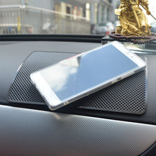 car-styling Non Slip Car Sticky Anti-Slip Mat Automobiles Interior Accessories Magic Sticky Pad for Mobile Phone GPS Mp4 Pad