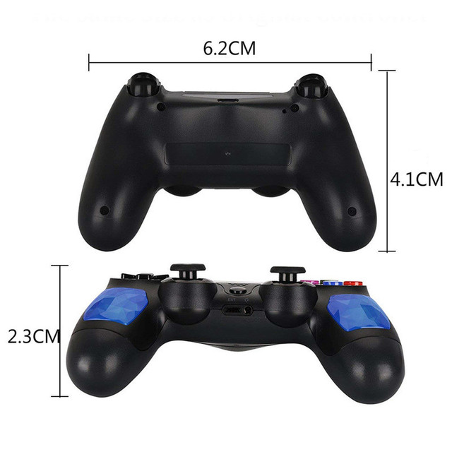For PS4 Controller handle Wireless for Bluetooth Game joypad for Dual Shock Vibration Joystick Gamepad for PlayStation 4