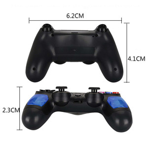 Image 1 - PS4 için Kontrol kolu Kablosuz Bluetooth Oyun joypad için için Çift Şok Titreşim Joystick Gamepad için PlayStation 4