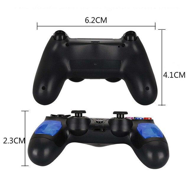 용 PS4 컨트롤러 핸들 무선 블루투스 게임 joypad 듀얼 충격 진동 조이스틱 PlayStation 4