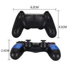 ل PS4 تحكم مقبض اللاسلكية للبلوتوث لعبة joypad ل المزدوج صدمة اهتزاز المقود غمبد للبلاي ستيشن 4