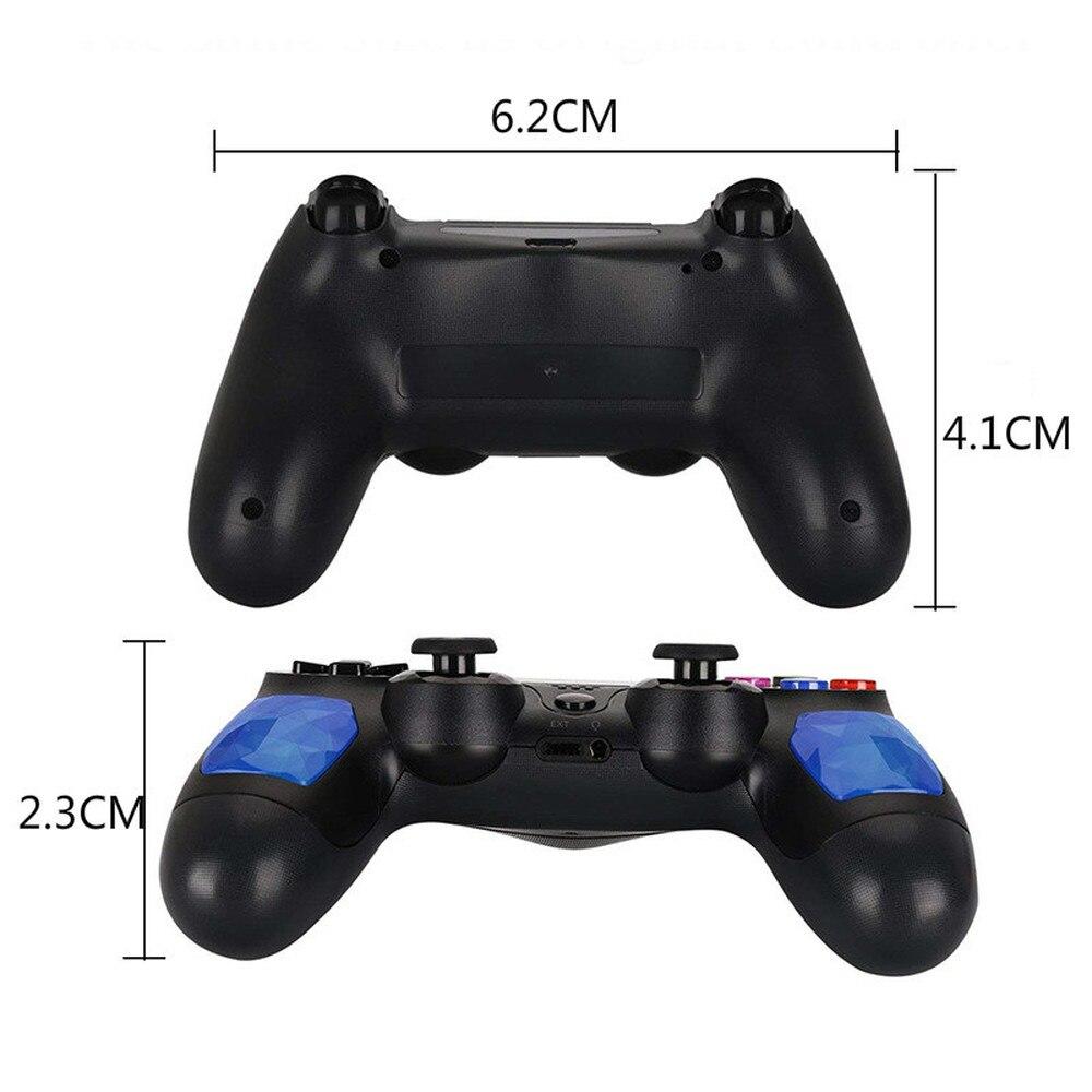 Pour manette PS4 manette sans fil pour Bluetooth jeu joypad pour double choc Vibration manette manette manette pour PlayStation 4