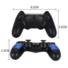 Voor PS4 Controller handvat Draadloze voor Bluetooth Game joypad voor Dual Shock Trillingen Joystick Gamepad voor PlayStation 4
