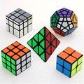 Nueva Original de la Velocidad Específica 5 unids/lote cubo mágico Sets (Incluyen de Segundo orden, de tercer orden, espejo, Megaminx, Pyraminx)-Paquete de 5