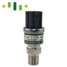 Настоящий датчик давления экскаватора для NAGANO KEIKI Тип KM15-17A KM1517A, S/N 7356481 2 МПа