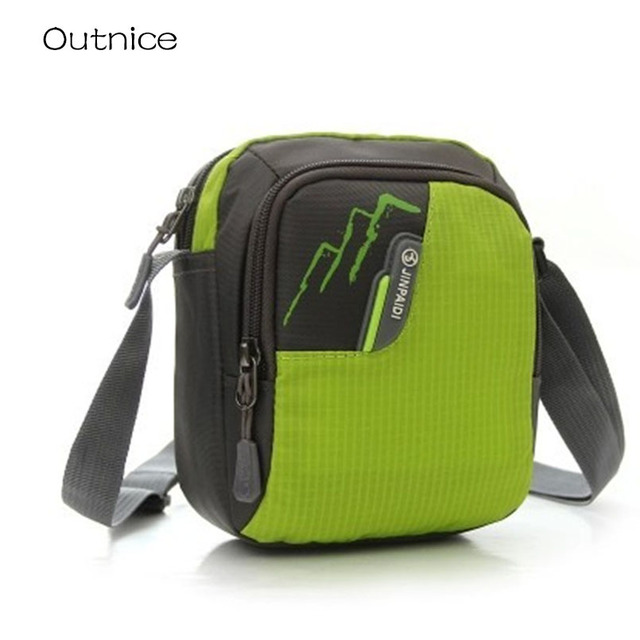 Outnice Brand Fashion Women Men Shoulder Bag Nylon Waterproof Travel Zipper  Pattern Mini Messenger Casual Crossbody Bags Canta f00a227e40985