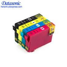 4 шт. Совместимый картридж для 296 T2961 T2962 T2963 T2964 для EPSON Expression XP231 XP241 XP431 XP-441 принтера