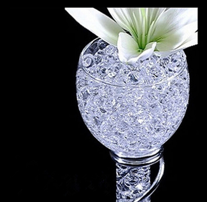 Amazing Transparent Crystal Soil Water Beads Ablaze Magic Pearl Vase