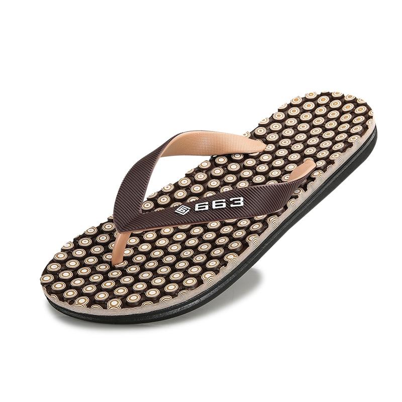 2018 Summer New Male Slippers Lazy Men Slippers Massage Flip Flops Outdoor Sandals Beach Shoes Bathroom Flip Flops Sandals Men tide flip flops manufacturers sands sandals slippers men beach shoes
