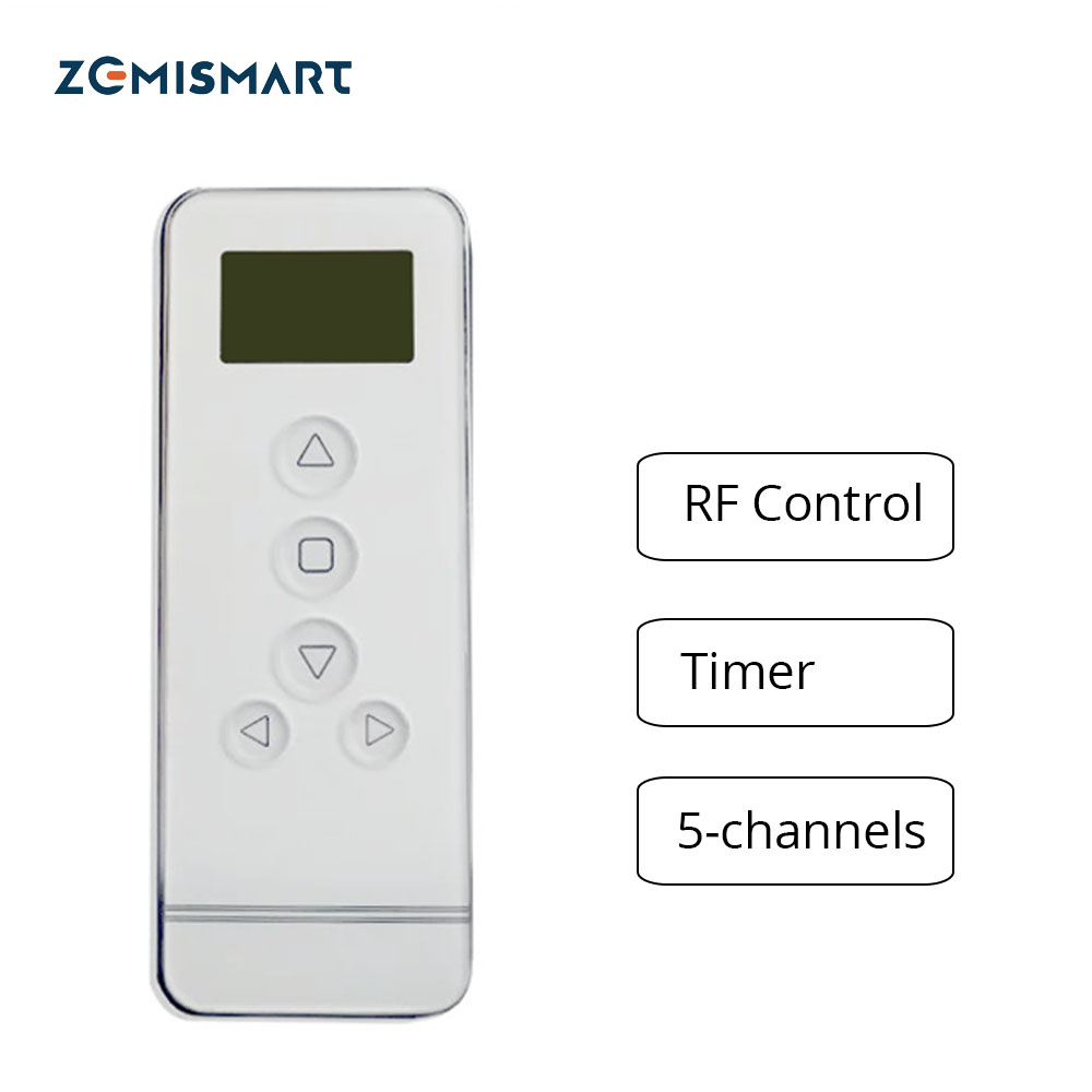 Five Channel Timer Curtain Motor Remote Electrical Controller 433MHz Control Curtains Engine System 18 High quality ewelink dooya electric curtain system curtain motor dt52e 45w remote control motorized aluminium curtain rail tracks 1m 6m
