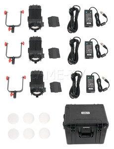 Image 5 - 3 szt. CAME TV Boltzen 60w fresnela bezwentylatorowy zestaw LED dwukolorowy światło Led do kamery