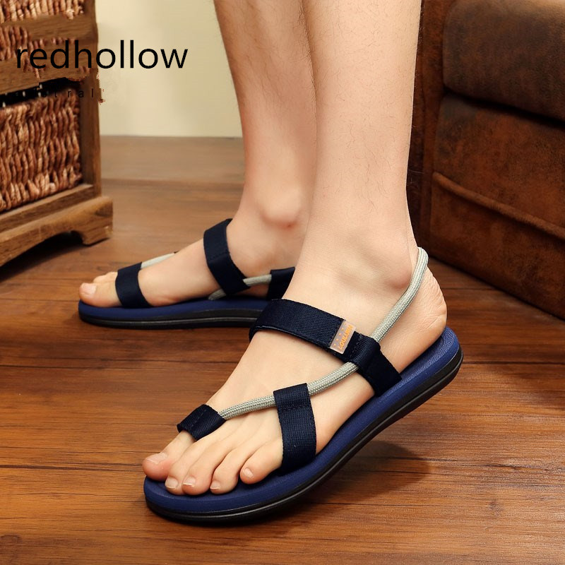 2018 New Summer Beach Shoes Heren Sandalen Roma Leisure Ademende Clip - Herenschoenen